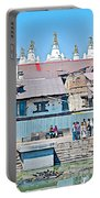 Pasupatinath Temple Of Cremation Complex In Kathmandu-nepal- Portable Battery Charger
