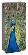 Peacock Full Plumage Portable Battery Charger