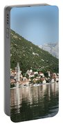 Perast In Kotor Bay Montenegro Portable Battery Charger