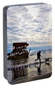 Peter Iredale Shipwreck, Fort Stevens Portable Battery Charger