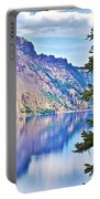 Phantom Ship Overlook In Crater Lake National Park-oregon Portable Battery Charger