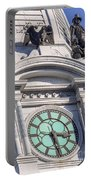Philadelphia City Hall Clock Portable Battery Charger