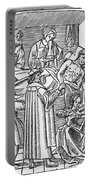 Physician & Plague Victim Portable Battery Charger