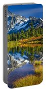 Picture Lake Portable Battery Charger by Inge Johnsson