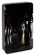 Pier In The Pacific Ocean, San Clemente Portable Battery Charger