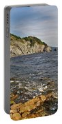 Pillar Rock In Cape Breton Highlands Np-ns Portable Battery Charger