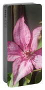 Pink  Clematis   # Portable Battery Charger