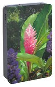 Pink Ginger Portable Battery Charger