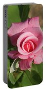 Pink Rose... Portable Battery Charger