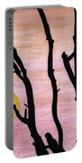 Pink - Sunrise Drawing Portable Battery Charger