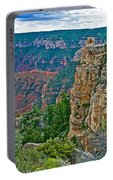 Point Imperial At 8803 Feet On North Rim Of Grand Canyon National Park-arizona   Portable Battery Charger