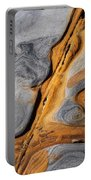 Point Lobos Abstract 4 Portable Battery Charger