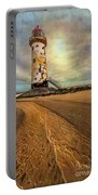 Point Of Ayre Lighthouse Portable Battery Charger by Adrian Evans