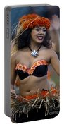 Polynesian Dancers Portable Battery Charger by Jason O Watson