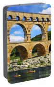 Pont Du Gard In Southern France Portable Battery Charger