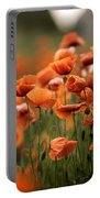 Poppy Dream Portable Battery Charger by Nailia Schwarz