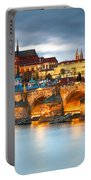 Prague Castle. Portable Battery Charger