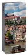 Prague Castle Portable Battery Charger