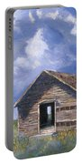 Prairie Church Portable Battery Charger by Jerry McElroy
