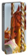 Pretty Carousel Horses Portable Battery Charger