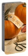 Pumpkins For Thanksgiving Portable Battery Charger