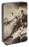 Queen Victoria & Family Portable Battery Charger