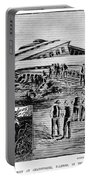 Railroad Accident, 1887 Portable Battery Charger