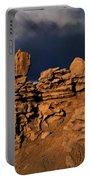 Rainbow And Sandstone Formations Fantasy Canyon Utah Portable Battery Charger
