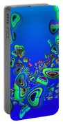 Rainbow Blue Portable Battery Charger