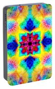 Rainbow Light Mandala Portable Battery Charger