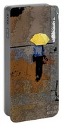 Rainy Days And Mondays Portable Battery Charger by David Bearden