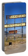 Rawlins Wyoming - Grandma's Cafe Portable Battery Charger