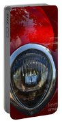 Red Classic Ford Portable Battery Charger
