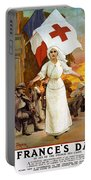 Red Cross Poster, 1915 Portable Battery Charger