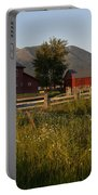 Red Farm Portable Battery Charger