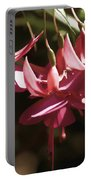 Red Fuchsia Portable Battery Charger
