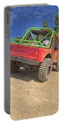 Red Off Road Car  Portable Battery Charger