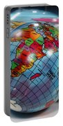 Reflected Globe Portable Battery Charger