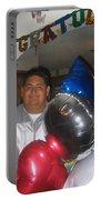 Ricardo Celebrating His High School Graduation Eloy Arizona 2002 Portable Battery Charger