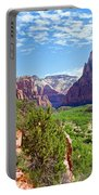 River Through Zion Portable Battery Charger