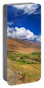 Road And Mountains Of Leh Ladakh Jammu And Kashmir India Portable Battery Charger