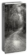 Road Way In Deep Forest Portable Battery Charger