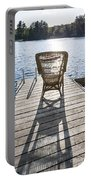 Rocking Chair On Dock Portable Battery Charger