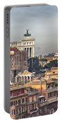 Rome Cityscape Portable Battery Charger