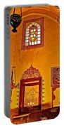 Room For Rumi's Sarcophagus In Konya-turkey  Portable Battery Charger