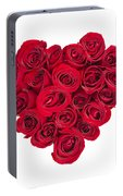 Rose Heart Portable Battery Charger