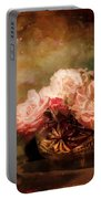 Roses By Candlelight Portable Battery Charger