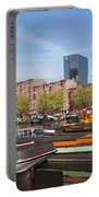 Rotterdam Cityscape In Netherlands Portable Battery Charger
