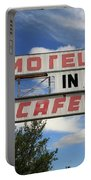 Route 66 - Glenrio Texas Portable Battery Charger