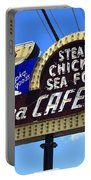 Route 66 - Luna Cafe Portable Battery Charger